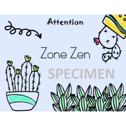 Affiche - Zone zen