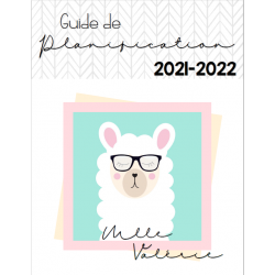 Page couverture personnalisée 2021-2022
