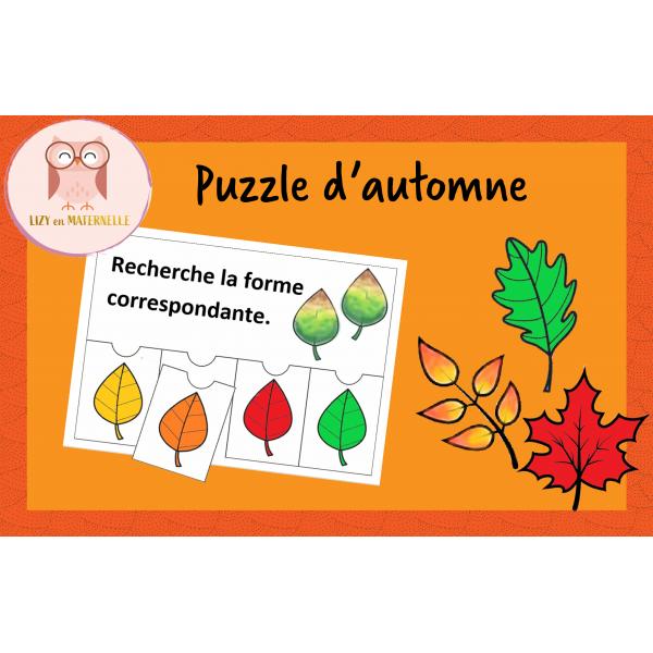 Puzzle Feuilles d'automne