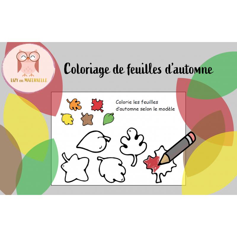 Coloriage De Feuilles D Automne