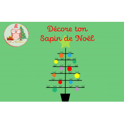 Décore ton sapin de Noël