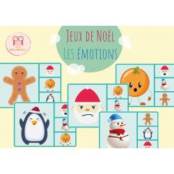 Jeu des émotions Noël