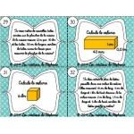Les cartes à tâches de mesure
