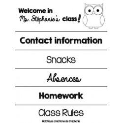 Classroom Handbook (BW)