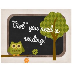 """Owl"" you need is reading!"