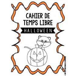 Cahier de temps libre pour Halloween