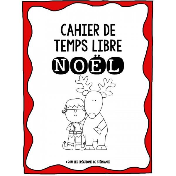 Cahier de temps libre de Noël