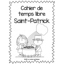 Cahier de temps libre pour la Saint-Patrick