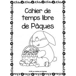 Cahier de temps libre de Pâques