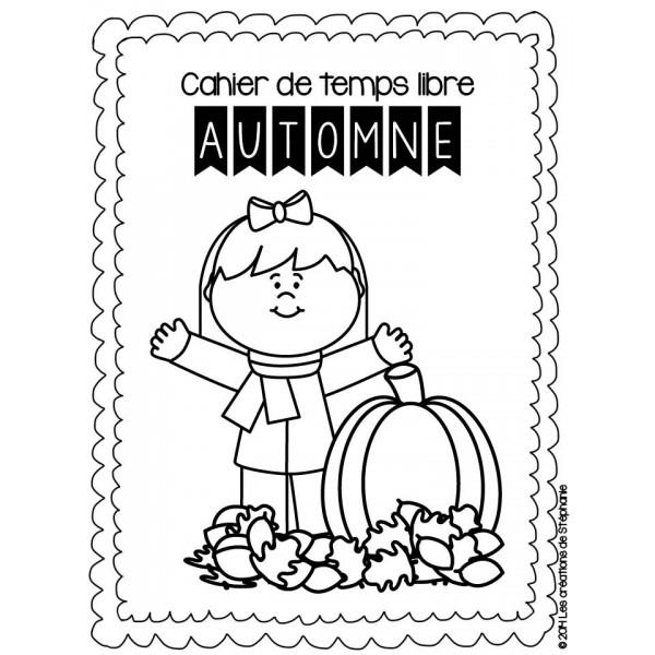 Cahier de temps libre : L'automne