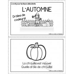 Livret pour lecteurs débutants : L'automne