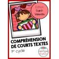 Courts textes : Édition Saint-Valentin