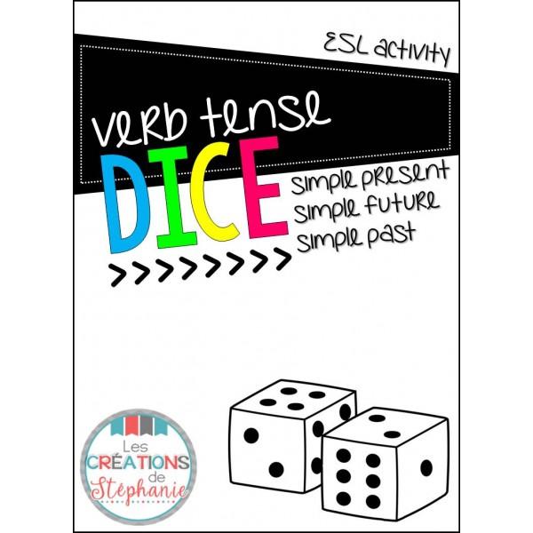 Verb Tense Dice Game