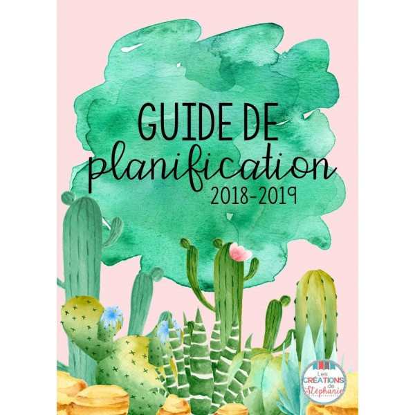 Guide de planification 2018-2019