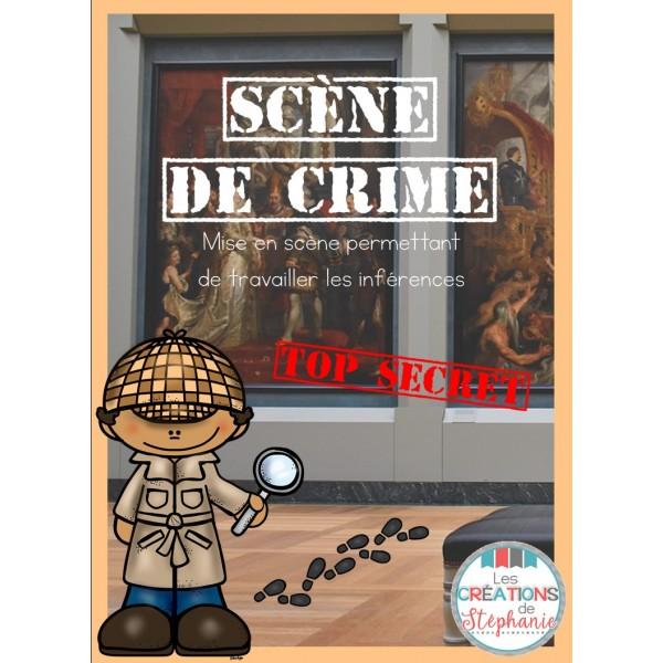 Scène de crime - 2e cycle