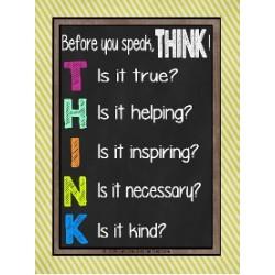 Poster T.H.I.N.K.