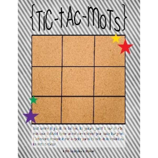 Tic-Tac-Mots