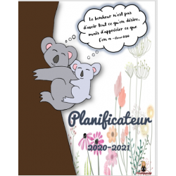 Planificateur/agenda prof 2020-2021 koala