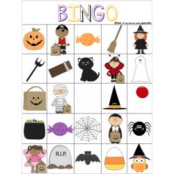 Bingo Halloween - 25 cases